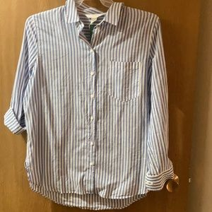 H&M Never Work Button-Down Size M